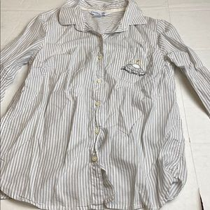 Old Navy Small The Classic Fit Button Up Space